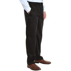 Pembrook 3X Men's Stretch Waist Casual Twill Pants